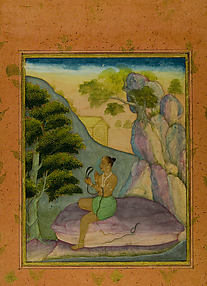Asavari Ragini: Folio from a Ragamala Series