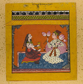 Raga Madhava: Folio from a Ragamala Series