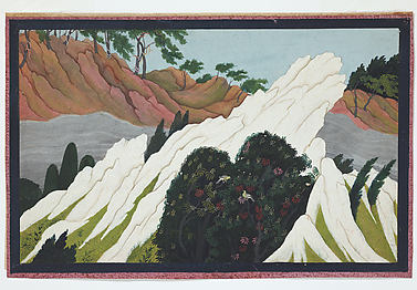 South Wind Cools in the Himalayas: Folio from the Second Guler Gita Govinda Series