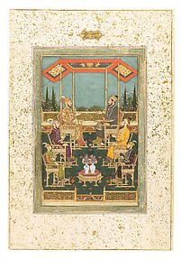 Darbar Scene with Four Sons and Two Grandsons of Shah Jahan