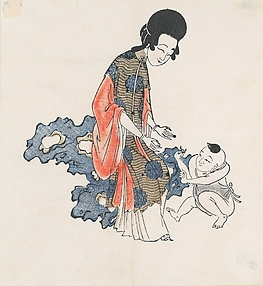 Beauty with Child