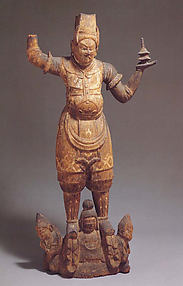 Standing Tobatsu Bishamonten