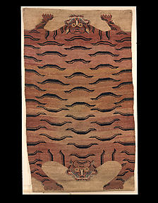 Carpet of Double Tiger-skin Design