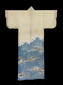 Summer Robe with Plovers above Sandbars and Flowering Plants