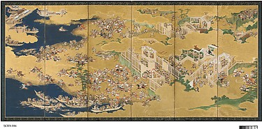 The Battles of Ichinotani and Yashima