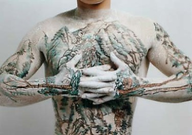 Chinese Landscape Tattoo No. 2