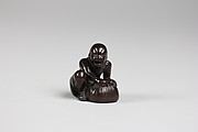 Netsuke of a South Sea Islander