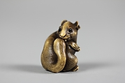 Netsuke of Squirrel