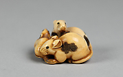 Netsuke of Three Rats