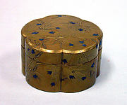 Incense box with pines