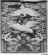 Rank Badges with Decoration of Two Cranes among Clouds