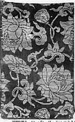 Sutra Cover with Lotus Scroll