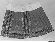 Woman's Wedding Skirt