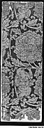 Sutra Cover with Boys in a Floral Scroll
