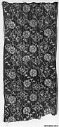 Piece of Cloth for Kimono with Pattern of Cherry Blossoms, Floral Medallions, Birds, and Vertical Splashes