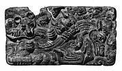 Belt Buckle with Animal-Combat Scene