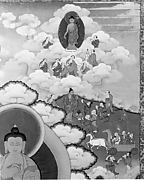 Thanka with Large Buddha