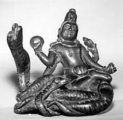 Vishnu on Adisesha