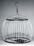 Bird cage with hook