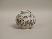 Jar (copy of Chinese Yuan dynasty 14th century made in Thailand in 1984)