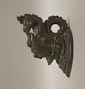 Makara-Shaped Handle