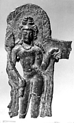 Attendant Figure from a Halo