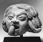 Head of a Man, Perhaps Eating a Fruit