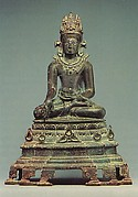 Seated Crowned and Jeweled Buddha