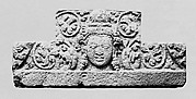 Lintel with the Head of a Male Deity