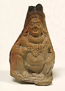 Rattle in the Form of a Crouching Yaksha (Male Nature Spirit)