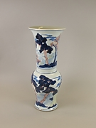 Vase with landscape scenes