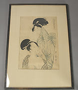Two women after Bath, from the series Elegant Pines of Fivefold Needles (Furyu goyo no matsu)