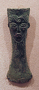 Ax Head with Bearded Face