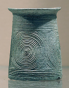 Small Cuff with Concentric Circles