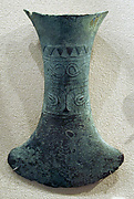 Hafted Flask-Shaped Ax with Face