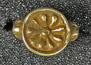 Ring, Hollow Petal Shape