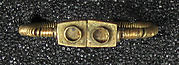 Toe Ring with Two Rectangular Bezels