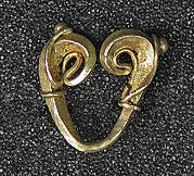 Double Scroll Fertility Earring