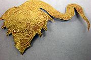 Cloth or hat ornament repousse