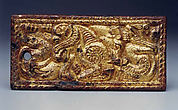 Belt Plaque with Feline and Ram