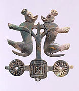Plaque in the Shape of a Chariot