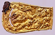 Belt Buckle with Zoomorphic Motif
