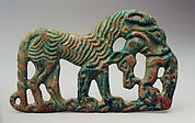 Belt Plaque in the Shape of a Tiger and a Kulan