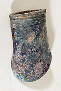 Axe Head with Triangular Design