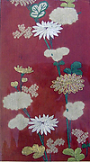 Piece from a Kosode with Chrysanthemums