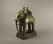Khandoba and Mahout on an Elephant