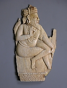 Relief Panel Depicting a Seated Sadhu