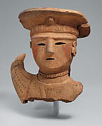 Haniwa (Clay Sculpture) of a Female Shrine Attendant