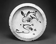 Ishizara Plate with Rabbit Design