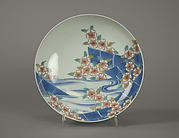 Dish with Cherry Blossom Rafts
